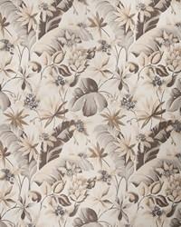 Gold Botanical Studio Fabric Fabricut Fabrics Corsica Umber Gold