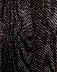 Faux Leather Studio Fabric  Tungsten Steel Alloy