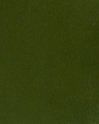 Green Faux Leather Studio Fabric  Lacquered Metal Emerald