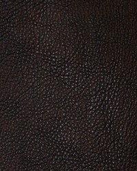 Brown Faux Leather Studio Fabric  Chemical Truffle