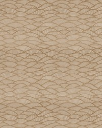 Brown Oriental Fabric  Oceanspray Pecan