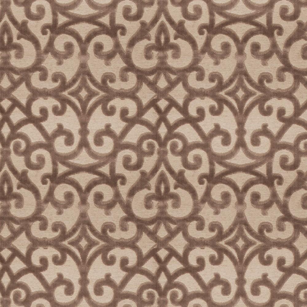 Fabricut Fabrics Grandview Truffle - InteriorDecorating.com