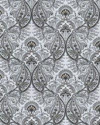 Silver French Country Toile Fabric  Rua Brot Platinum