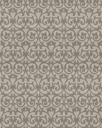 Grey Chromatics Vol XXIII Fabric Fabricut Fabrics Ezekiel Scroll Stone