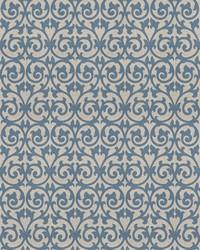 Chromatics Vol XXIII Fabric Fabricut Fabrics Ezekiel Scroll Delft