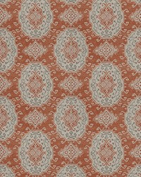 Chromatics Vol XXIII Fabric Fabricut Fabrics Secale Terra Cotta