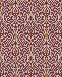 Red Chromatics Vol XXIII Fabric Fabricut Fabrics Fava Damask Ruby