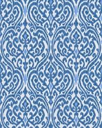 Blue Chromatics Vol XXIII Fabric Fabricut Fabrics Fava Damask Indigo