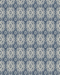 Blue Chromatics Vol XXIII Fabric Fabricut Fabrics Panettone Denim