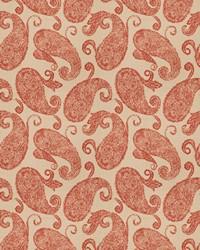 Vignettes Vol XIV Fabric Fabricut Fabrics Ardency Paisley Henna
