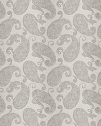 Silver Vignettes Vol XIV Fabric Fabricut Fabrics Ardency Paisley Platinum
