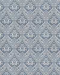 Blue Vignettes Vol XIV Fabric Fabricut Fabrics Know How Chambray