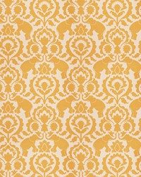 Yellow Vignettes Vol XIV Fabric Fabricut Fabrics Amelius Topaz