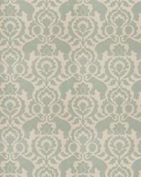 Blue Vignettes Vol XIV Fabric Fabricut Fabrics Amelius Aqua
