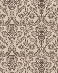 Black Vignettes Vol XIV Fabric Fabricut Fabrics Wisdom Damask Graphite