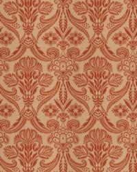Orange Vignettes Vol XIV Fabric Fabricut Fabrics Wisdom Damask Persimmon