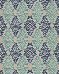 Blue Vignettes Vol XIV Fabric Fabricut Fabrics Visionary Ocean Blue