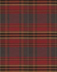 Red Vignettes Vol XIV Fabric Fabricut Fabrics Values Plaid Garnet