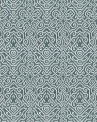 Chromatics Vol XXIII Fabric Fabricut Fabrics Emmer Damask Lagoon