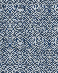 Blue Chromatics Vol XXIII Fabric Fabricut Fabrics Emmer Damask Navy