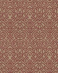 Red Chromatics Vol XXIII Fabric Fabricut Fabrics Emmer Damask Claret