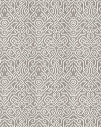 Grey Chromatics Vol XXIII Fabric Fabricut Fabrics Emmer Damask Grey