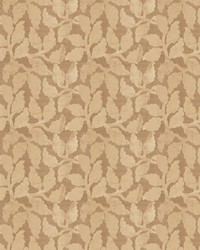 Beige Vignettes Vol XIV Fabric Fabricut Fabrics Mendel Leaf Ecru
