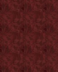 Purple Vignettes Vol XIV Fabric Fabricut Fabrics Mendel Leaf Wine