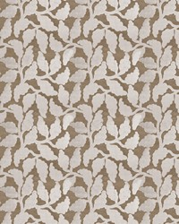 Silver Vignettes Vol XIV Fabric Fabricut Fabrics Mendel Leaf Silver