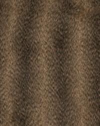 Black Animal Print Faux Fur Fabric  Racoon Mink