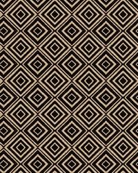 Black Color Studio Chenilles III Fabric  Larchmont Onyx