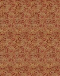 Red Color Studio Chenilles III Fabric  Moody Edge Tuscan