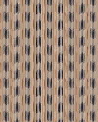 Beige Color Studio Chenilles III Fabric  Soho Stripe Lapis