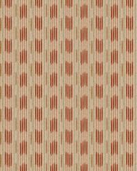 Color Studio Chenilles III Fabric  Soho Stripe Henna