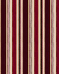 Casa Stripe Claret by