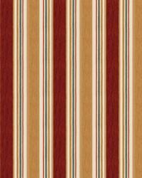Color Studio Chenilles III Fabric  Casa Stripe Auburn