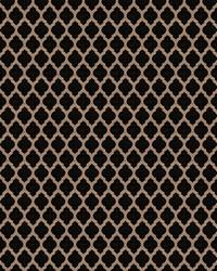 Black Color Studio Chenilles III Fabric  Hartford Onyx