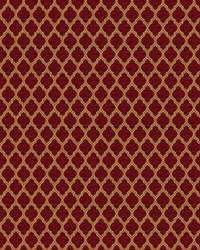 Red Color Studio Chenilles III Fabric  Hartford Ruby