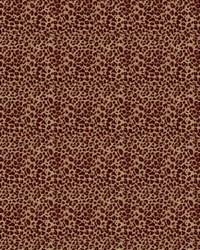 Red Color Studio Chenilles III Fabric  Cougar Claret