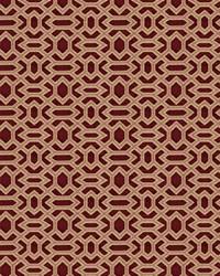 Red Color Studio Chenilles III Fabric  Milford Claret