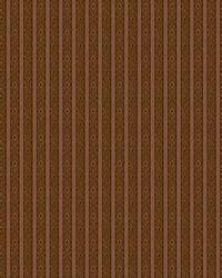Color Studio Chenilles III Fabric  Totem Stripe Auburn