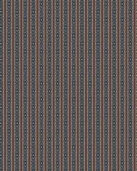 Color Studio Chenilles III Fabric  Totem Stripe Lapis
