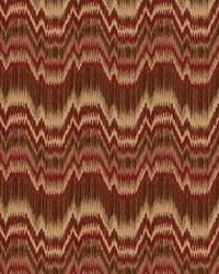Color Studio Chenilles III Fabric  Bolivia Paprika