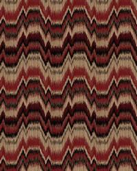 Red Color Studio Chenilles III Fabric  Bolivia Scarlet
