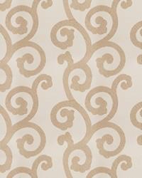 Beige Silk Nuances Fall 2015 Fabric  Brando Scroll Natural