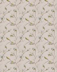 Green Silk Nuances Fall 2015 Fabric  Pinkett Floral Seamist