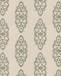 Green Silk Nuances Fall 2015 Fabric  Grier Medallion Seamist