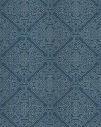 Silk Nuances Fall 2015 Fabric  Crowe Damask Nautical