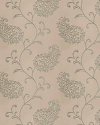 Green Silk Nuances Fall 2015 Fabric  Liotta Paisley Seamist