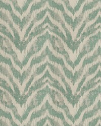 Ante Ikat Turquoise by